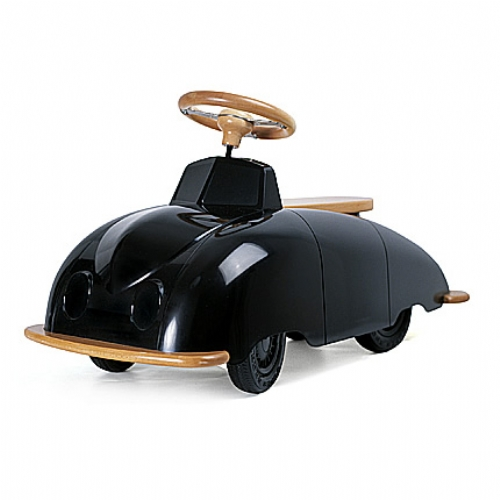 Wooden SAAB Roadster Ride On Toy