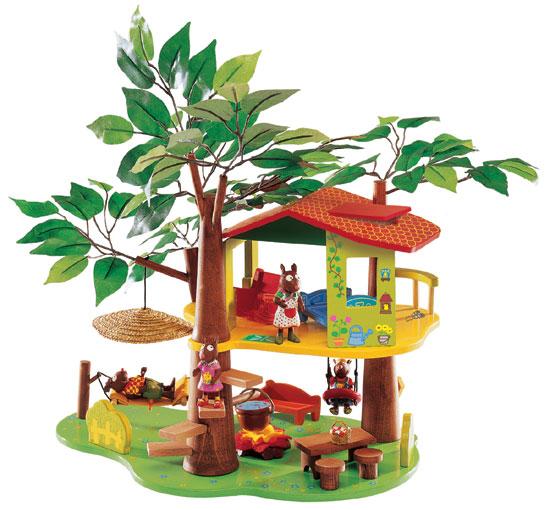 Les Zamiloo Tree House by Djeco