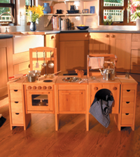 Holz Toys full pretend play kitchen set