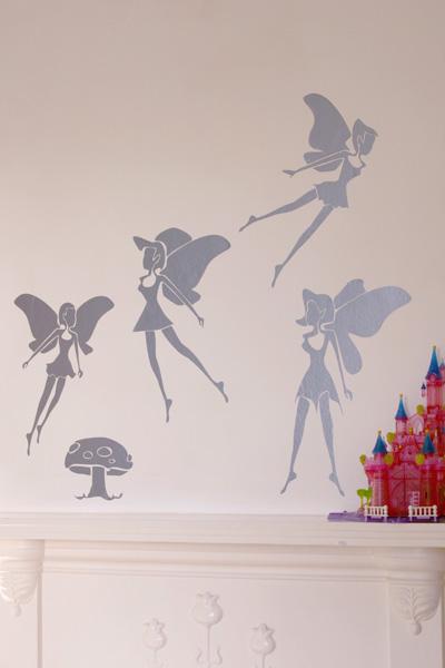 SCIN Fairy Wall Tattoos
