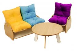 Childrens Contemporary Lounge Set by Millhouse