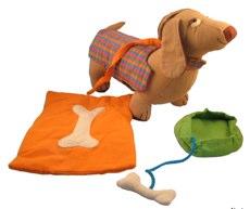 Traidcraft Dog Bag with Accessories