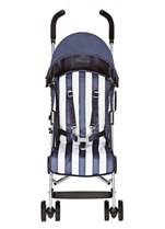 The Pushchair Track: Limited Edition Butchers Stripe Maclaren Quest