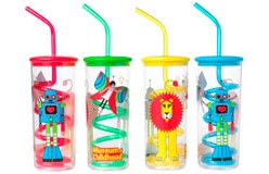 Clifford Richards Beaker and Straw