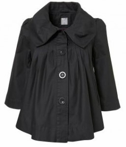 Hot Maternity Coat Alert! TopShop Maternity Swing Jacket