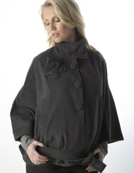 Seraphine Maternity Wool Cape