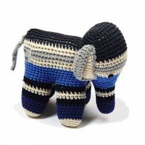 Organic Cotton Crochet Elephant by Anne-Claire Petit