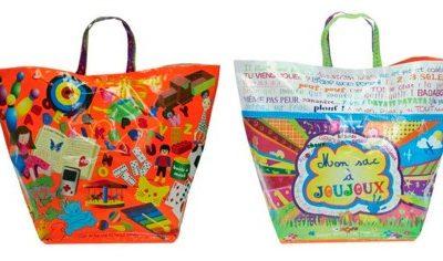 Toy storage bag by Caroline Lisfranc
