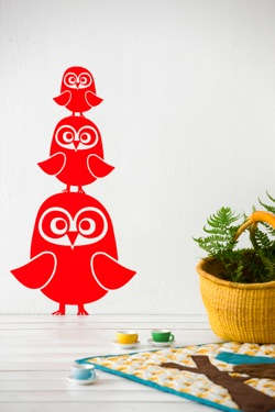 Sneaky Preview: Owl children's accessories by Ferm Living