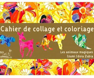 Animal Collage/Scrap Book by Izumi Idoia Zubia