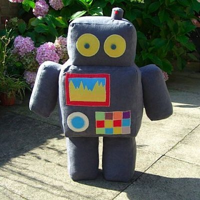 Big Robot Soft Toy