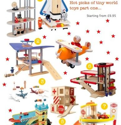 Bambino Goodies Christmas Gift Guide: Tiny world toys…part one