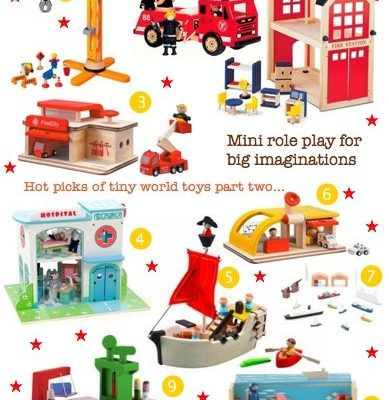 Bambino Goodies Christmas Gift Guide: Tiny world toys part two