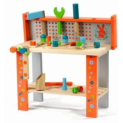 Janod Work Bench & Doll House