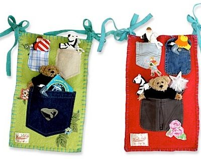Happy Hour Cot Pockets by Alice and Emma