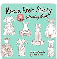 Mini Giveaway – 3 prizes of Rosie Flo Colouring Books & Posters to be won