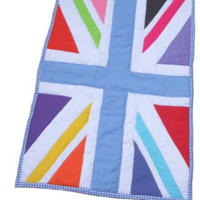 Sew Girl Union Jack Cot Quilt