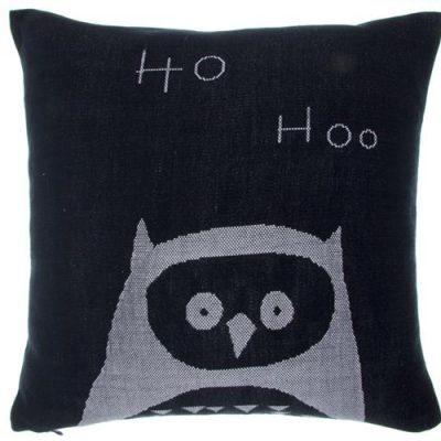 Couverture owl cushion