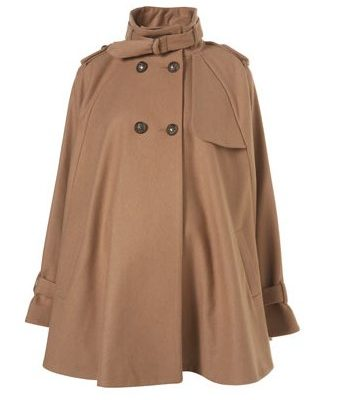 Great Autumn Winter Coat Hunt: Topshop Maternity Cape