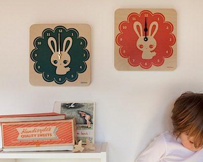 First Look: LulaBunny clocks by Lulabird