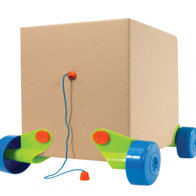 Rolobox – Transform Cardboard Boxes Into Pull-Along Toys