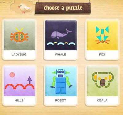 Shape-O! iPad app