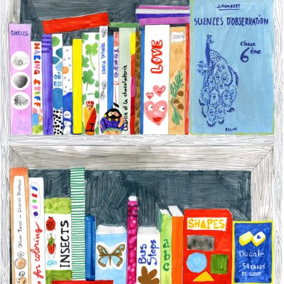 Marina Vandel Mes Livres wallpaper