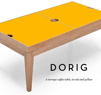 Swoop Now: Dorig storage coffee table – Perfect for family spaces