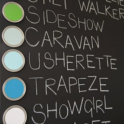 Hot! Olive Loves Alfie Colour – A Soya Based Paint Range