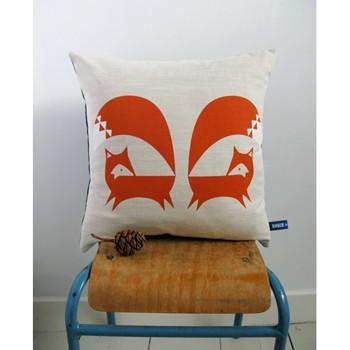 Howkapow fox cushion