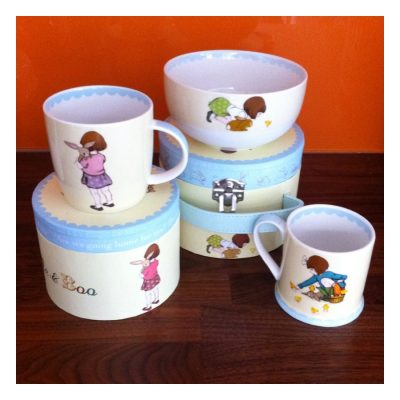 Hot! Belle & Boo Churchill China collection