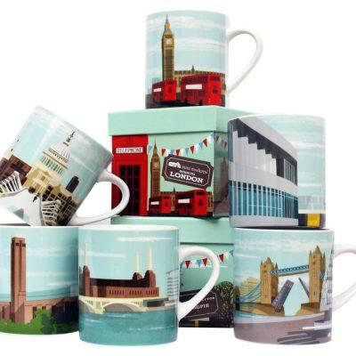 Mini Moderns Guide to London mugs