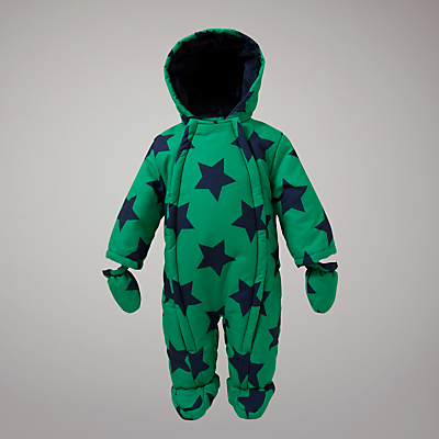 Hot on the high street: John Lewis Baby star snowsuit