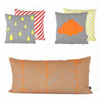 Ferm Living Neon cushions