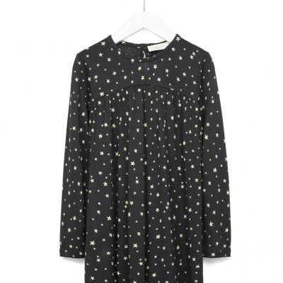 Hot on the high street: Zara Kids Studio star-print dress