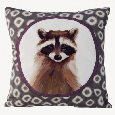 Katie & the Wolf animal cushions