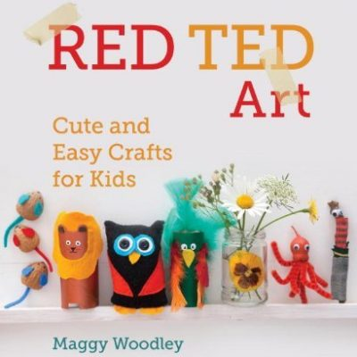 Red Ted Art kids' craft book