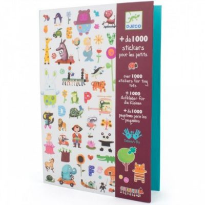 1000 stickers from Djeco
