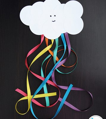 Make Your Own: Happy clouds and rainbows
