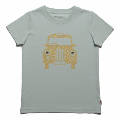 Red Urchin Taxi t-shirt for charity