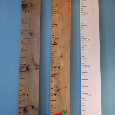 Kids Rule height chart