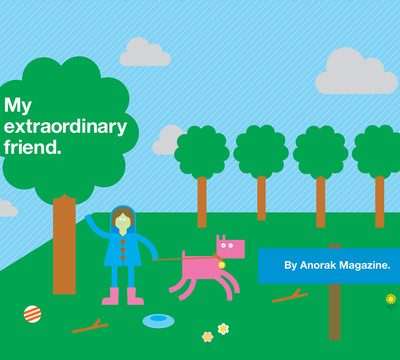 My Extraordinary Friend interactive book for iPad
