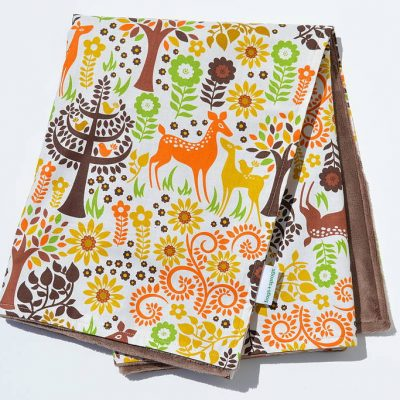 Frogs & Sprogs Woodland Blanket