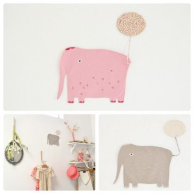 Cocon elephant placemats