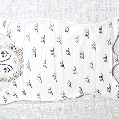 Roxy Marj lion baby blanket