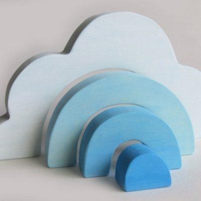 Imagination Kids wooden cloud stacker