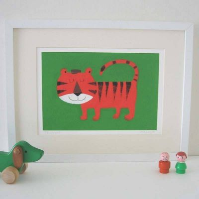 String animal giclee prints