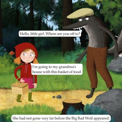 Nosy Crow Little Red Riding Hood app