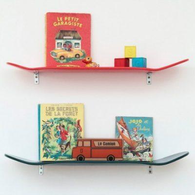 Leçons de Choses skateboard shelf