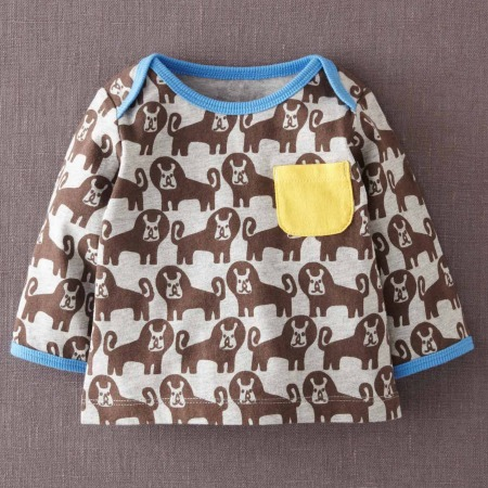 Boden Lions Tee on Bambino Goodies